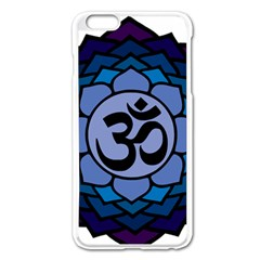Ohm Lotus 01 Apple iPhone 6 Plus Enamel White Case