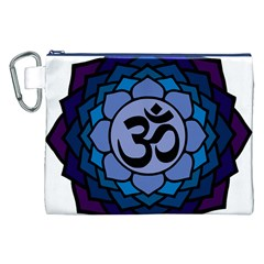 Ohm Lotus 01 Canvas Cosmetic Bag (XXL)