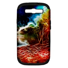 Abstract On The Wisconsin River Samsung Galaxy S Iii Hardshell Case (pc+silicone)