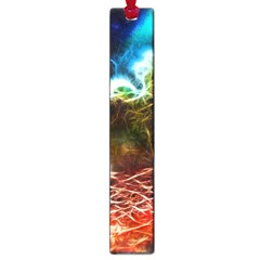 Abstract On The Wisconsin River Large Bookmark