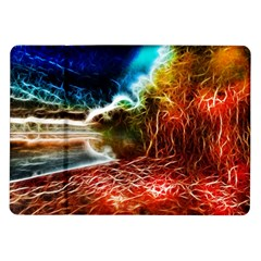 Abstract On The Wisconsin River Samsung Galaxy Tab 10 1  P7500 Flip Case