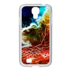 Abstract On The Wisconsin River Samsung Galaxy S4 I9500/ I9505 Case (white)