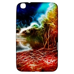 Abstract On The Wisconsin River Samsung Galaxy Tab 3 (8 ) T3100 Hardshell Case