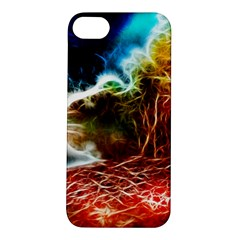 Abstract On The Wisconsin River Apple Iphone 5s Hardshell Case