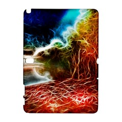 Abstract on the Wisconsin River Samsung Galaxy Note 10.1 (P600) Hardshell Case