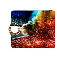 Abstract On The Wisconsin River Kindle Fire Hdx 8 9  Flip 360 Case