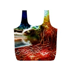 Abstract on the Wisconsin River Reusable Bag (S)