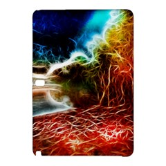 Abstract on the Wisconsin River Samsung Galaxy Tab Pro 10.1 Hardshell Case
