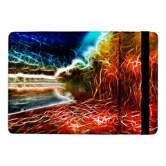 Abstract On The Wisconsin River Samsung Galaxy Tab Pro 10 1  Flip Case