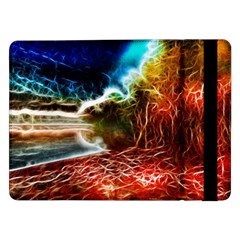 Abstract on the Wisconsin River Samsung Galaxy Tab Pro 12.2  Flip Case