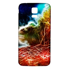 Abstract on the Wisconsin River Samsung Galaxy S5 Back Case (White)
