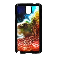 Abstract On The Wisconsin River Samsung Galaxy Note 3 Neo Hardshell Case (black)
