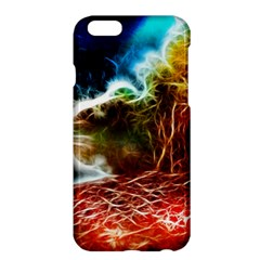 Abstract on the Wisconsin River Apple iPhone 6 Plus Hardshell Case
