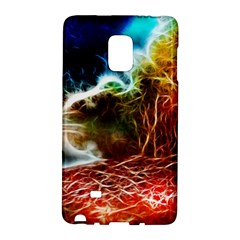 Abstract on the Wisconsin River Samsung Galaxy Note Edge Hardshell Case