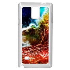 Abstract On The Wisconsin River Samsung Galaxy Note 4 Case (white)