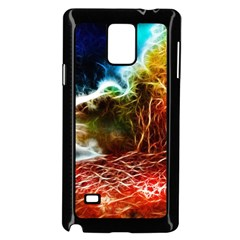 Abstract on the Wisconsin River Samsung Galaxy Note 4 Case (Black)