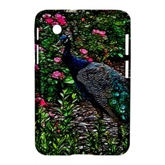 Peacock With Roses Samsung Galaxy Tab 2 (7 ) P3100 Hardshell Case