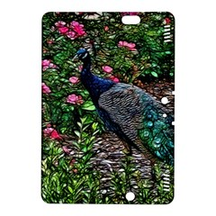 Peacock with roses Kindle Fire HDX 8.9  Hardshell Case
