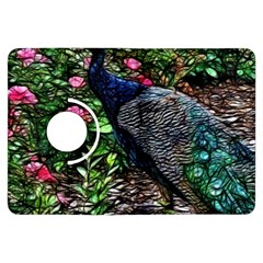 Peacock with roses Kindle Fire HDX Flip 360 Case