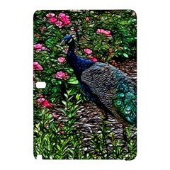 Peacock With Roses Samsung Galaxy Tab Pro 10 1 Hardshell Case