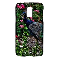 Peacock With Roses Samsung Galaxy S5 Mini Hardshell Case