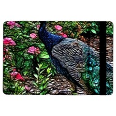Peacock with roses Apple iPad Air 2 Flip Case