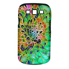 Abstract Peacock Chrysanthemum Samsung Galaxy S Iii Classic Hardshell Case (pc+silicone)