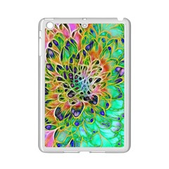 Abstract Peacock Chrysanthemum Apple Ipad Mini 2 Case (white)