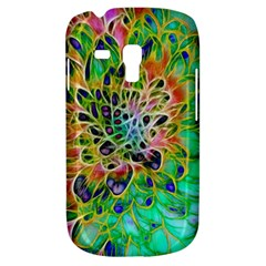 Abstract Peacock Chrysanthemum Samsung Galaxy S3 Mini I8190 Hardshell Case