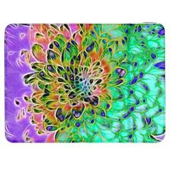 Abstract peacock Chrysanthemum Samsung Galaxy Tab 7  P1000 Flip Case