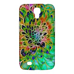 Abstract Peacock Chrysanthemum Samsung Galaxy Mega 6 3  I9200 Hardshell Case