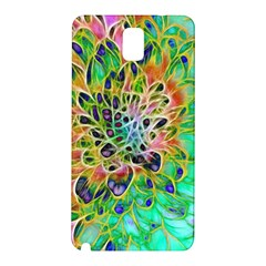 Abstract peacock Chrysanthemum Samsung Galaxy Note 3 N9005 Hardshell Back Case
