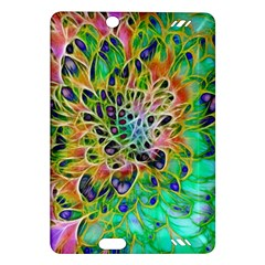 Abstract Peacock Chrysanthemum Kindle Fire Hd (2013) Hardshell Case