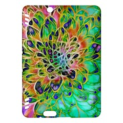 Abstract peacock Chrysanthemum Kindle Fire HDX Hardshell Case
