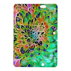 Abstract Peacock Chrysanthemum Kindle Fire Hdx 8 9  Hardshell Case