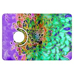 Abstract peacock Chrysanthemum Kindle Fire HDX Flip 360 Case