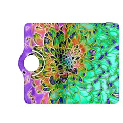 Abstract peacock Chrysanthemum Kindle Fire HDX 8.9  Flip 360 Case