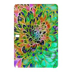 Abstract Peacock Chrysanthemum Samsung Galaxy Tab Pro 10 1 Hardshell Case