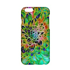 Abstract Peacock Chrysanthemum Apple Iphone 6 Hardshell Case
