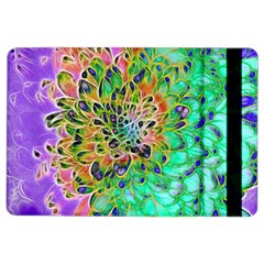 Abstract Peacock Chrysanthemum Apple Ipad Air 2 Flip Case