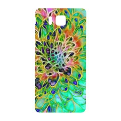 Abstract peacock Chrysanthemum Samsung Galaxy Alpha Hardshell Back Case
