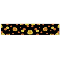 Floral Print Modern Style Pattern Flano Scarf (Large)