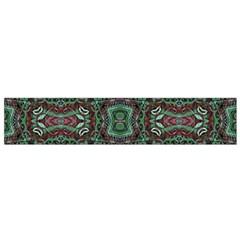 Tribal Ornament Pattern  Flano Scarf (small)