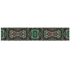 Tribal Ornament Pattern  Flano Scarf (Large)