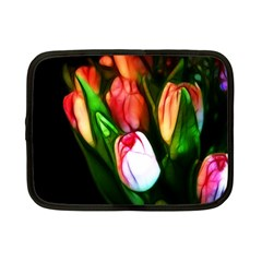 Abstract Pink Tulips Netbook Sleeve (small)
