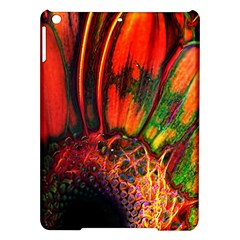 Abstract of an Orange Gerbera Daisy Apple iPad Air Hardshell Case