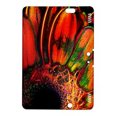 Abstract Of An Orange Gerbera Daisy Kindle Fire Hdx 8 9  Hardshell Case