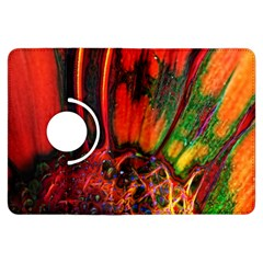 Abstract of an Orange Gerbera Daisy Kindle Fire HDX Flip 360 Case