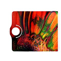 Abstract of an Orange Gerbera Daisy Kindle Fire HDX 8.9  Flip 360 Case