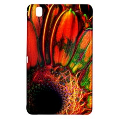 Abstract of an Orange Gerbera Daisy Samsung Galaxy Tab Pro 8.4 Hardshell Case